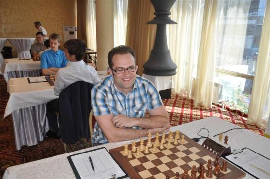 GM  Eljanov did not have a great tournament and only scored 5.5 points.