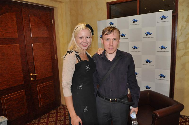 Beauty and the Beast!  Ponomariov played some inspired chess in this tournament...no wonder!