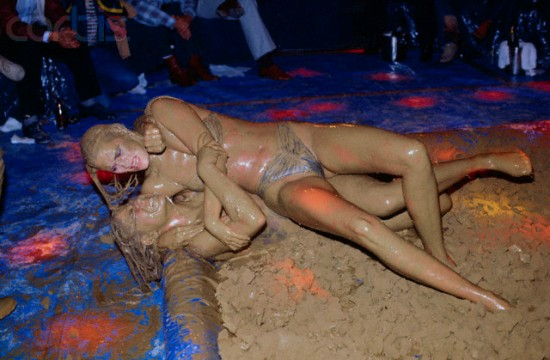 Women Mud Wrestling