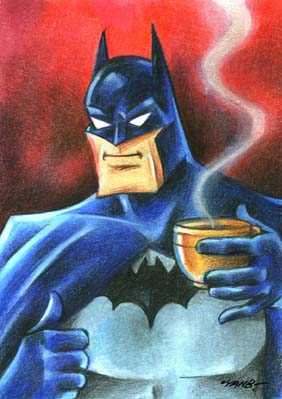 Batman_and_the_coffee_by_yanb