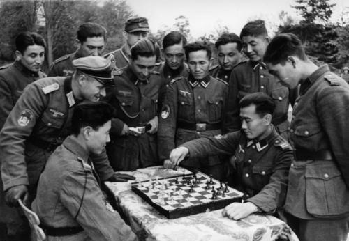 Frankreich, Turkestani in der Wehrmacht