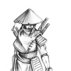 The_hooded_samurai