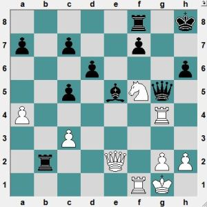 Serbia Ch  2016.4.17  Djordjevic, V-- Zajic, M.  Black has just played 23…Rxb2. White to play and win.