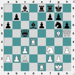 Bundesliga Dresden 2016.4.24  Berelowitsch, Alexander--Schenk, Andreas.  White to play and win!