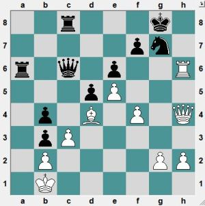 ch-CHN 2016.4.19  Gao, Rui--Xu, Yinglun.  Black to play and mate in 4 moves.