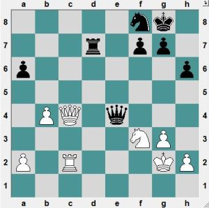 Black to play and and win!