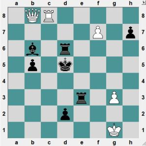 White played 66.QxR+and lost the game. How does White save the game?