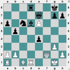 Vitiugov-Oparin. Yesterday. White is better, but at first sight it looks like a fight.  White to play and win!