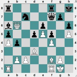 Should White try 28.Bc5 attacking the Rook?