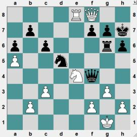 An unusal position. What is Black's best defence?