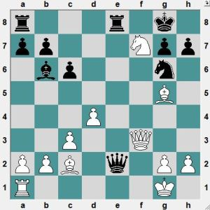 Najer-Jakovenko. Yesterday. How does White get a winning advantage?