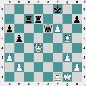 Ofcourse, White is winning twenty ways. But how does White crush Black?
