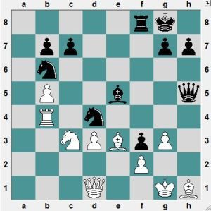 Maltsevskaya-Pogonina. Sochi. Black to play and win!