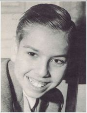 Pomar as a young kid