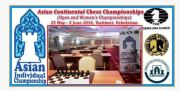 Asian Continental. Qualification for world cup. VERY STRONG. 91 players, 28 gms and 13 ims. A total of 19 countries participating. http://uzchess.uz/