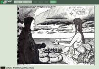http://www.deviantart.com/art/Atheist-Thai-Woman-Plays-Chess-182349072