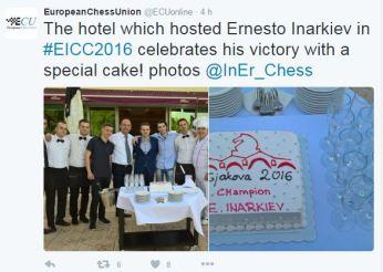 Celebration Hotel Cake!