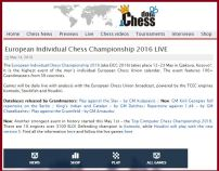 ChessDom coverage!http://www.chessdom.com/european-individual-chess-championship-eicc-2016-live/