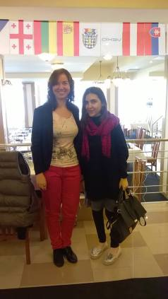 Sabrina and Ana at the European Womens Championship, Romania