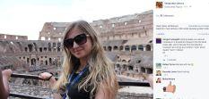 Canadian Liza Orlova in Rome!