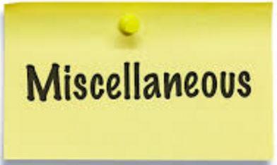 miscelaneous