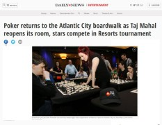 Shahade giving a simul and warming up to play some poker! http://www.nydailynews.com/entertainment/poker-returns-ac-boardwalk-taj-mahal-resorts-casino-article-1.2641842