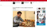 Famous even in Portugal! https://www.publico.pt/desporto/noticia/ernesto-inarkiev-e-o-novo-campeao-europeu-1732860
