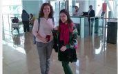 Sabrina and Ana heading off to Romania!