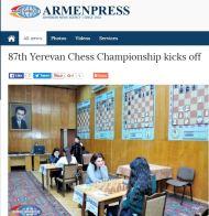 Yerevan! https://www.armenpress.am/eng/news/848429/87th-yerevan-chess-championship-kicks-off.html