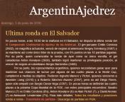 ElSalvador News Argentina Blog