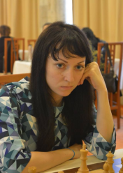 A very serious German Grandmaster Elizabeth Phaetz https://www.facebook.com/FRSah.ro/