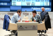 Caruana getting 'robbed' by the tiebreak rules. Don't these players know how to say 'no' to certain silly clauses in the rules before accepting to play in these tournaments? http://www.shamkirchess.az/content/99