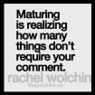 maturing