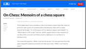 Very Original! http://kbia.org/post/chess-memoirs-chess-square