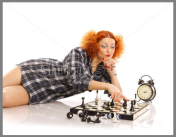 I love the chess clock!
