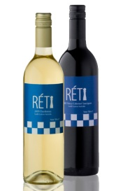 I love it! Reti Wine. Very hypermodern...