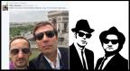 Topalov and Danailov Blues Brothers