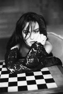Photo by Sante D'Orazio. Model Monica Bellucci