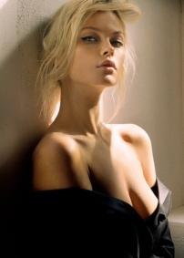 Model Inna Malikova. Photo by Lev Efimov