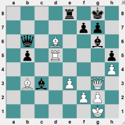 MONTCADA 2016.7.1 Swayams, Mishra--Yashas, D. Position after 31 moves. WHITE TO PLAY AND WIN!