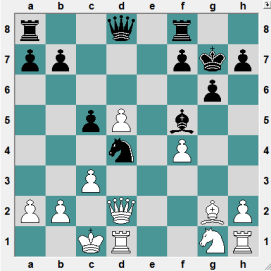 World Senior Teams +50 Radebeul GER 2016.6.28 Bartsch, Berthold--Anastasian, Ashot. White's last move was 16.c3, attacking the Knight. BLACK TO PLAY AND CRUSH!