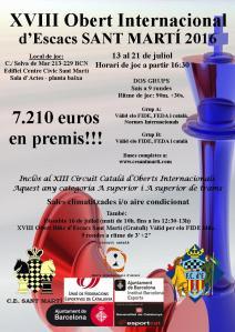 Cartel XVIII Obert Internacional Sant Marti 2016_Carteles_web