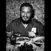 Fidel being corrupted by some good Chop Suey!
