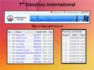 7th Hainan Danzhou GM tournament takes place 8th to 17th July 2016. Players: Ding Liren, Yu Yangyi Wang Hao, Bu Xiangzhi, Wang Yue, Hou Yifan, Pentala Harikrishna, Ian Nepomniachtchi, Peter Leko and Vasyl Ivanchuk. Play starts 2:30pm local time http://chess-results.com/tnr229732.aspx?lan=1
