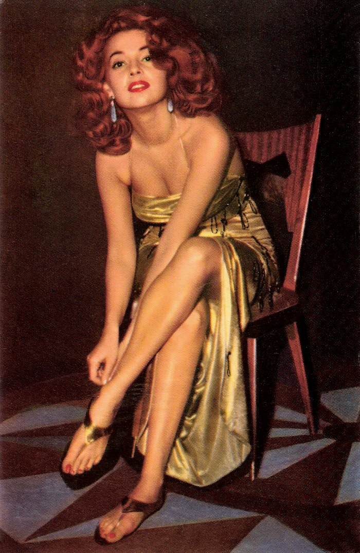"""Abbe Lane, """"the swingingest sexpot in show business"""""""